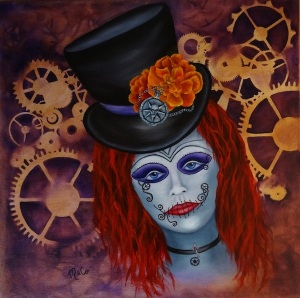 Day of The Dead Meets Steampunk