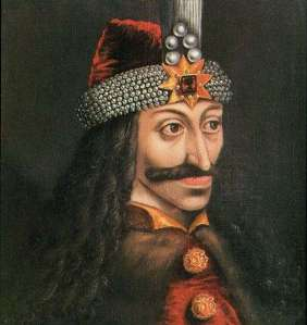 Oil painting of Vlad Tepes, or Dracul, Prince of Wllachia