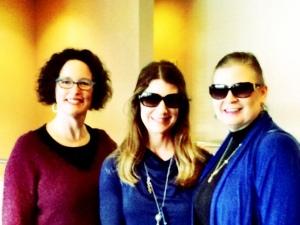 Me, NYT bestseller Susan Wiggs, fellow debut author Stacy Allen