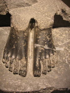 Three Thousand Year Old Feet- Add Personality and Problems at Will.