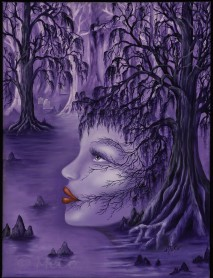 Soul of the Bayou, an original painting by Cheryl Owen-Wilson