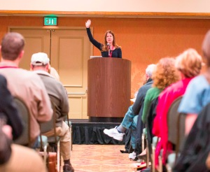 Susan Wiggs speaks at Wordcrafters 2014