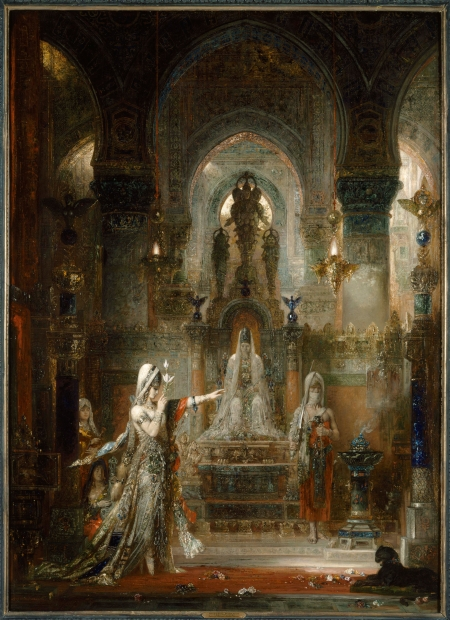Image: Gustave Moreau, Salome Dancing Before Herod, 1876. Oil on canvas. The Armand Hammer Collection at the Hammer Museum. Gift of the Armand Hammer Foundation.