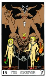 Tarot Keys 1-29-06 008 The Deceiver #15