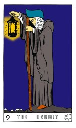 Tarot Keys 1-29-06 022 The Hermit #9.jpg