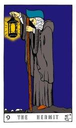 Tarot Keys 1-29-06 022 The Hermit #9.jpg