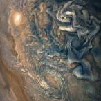 clouds in Jupiters northern hemisphere